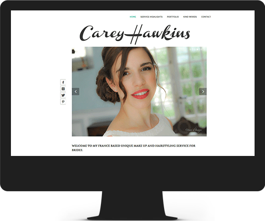 Carey Hawkins Make-up